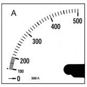 Шкала SEC72 FA 1200/5 A (M105YQ) Circutor